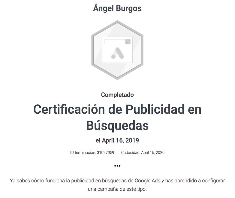 empresa certificada google ads