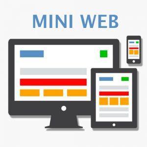 mini web